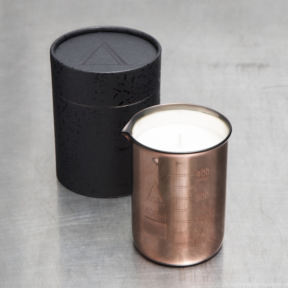 Alchemy Produx rose gold beaker $65