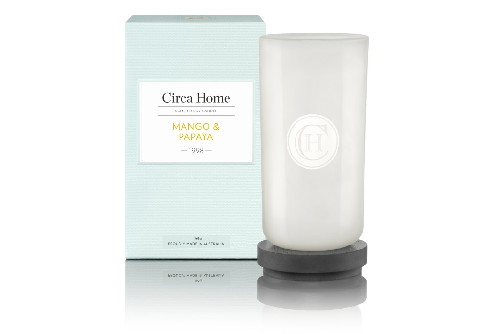 Circa Home Mango & Papaya Perfect Spaces Candle RRP $19.95
