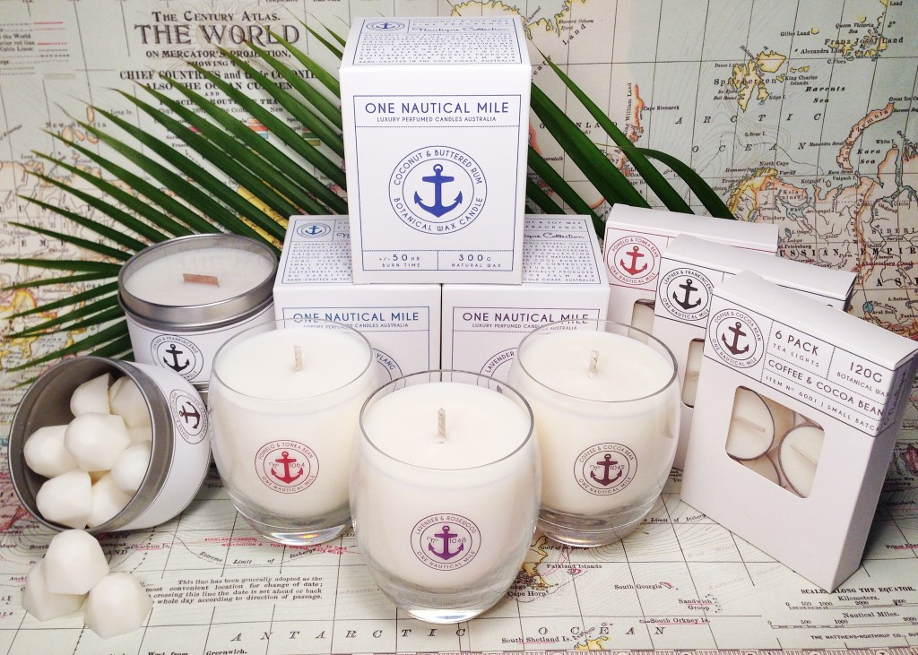 One Nautical Mile candles